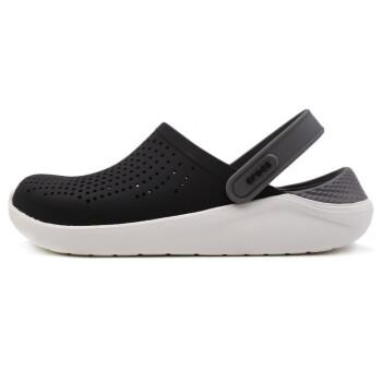 CROCS crocs男性靴女性靴2020夏新品カップル靴ビーチ靴ホールシューズカジュアル耐摩耗性滑り止め平底サンダル20592-05 M/劉憲華同モデル/灰色41-42/(M 8 W 10)