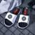 LI-NINGスリッパ韋徳の道涼引きずり男靴2020夏新型マジックは軽便で耐摩耗性滑り止め運動靴-1標準白/標準黒/微結晶灰41(内長250-2260)を貼ります。