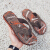 GUANTA NIKE N新商品スリッパ男子ファッション夏2020外室外一字の人の字を着て滑り止めサンダル百選カウボーイ学生のオフィシャルフラッグショップブラウン42