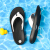 NIKENIKE男性靴2020夏の新型ファッション靴ビーチビーチビーチウォーターシューズ快適でカジュアルな住まいの家族の字サンダルAO 3621-100 45/290 mm