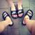 勝道運動NIKE男性靴新品BENASSI SOLARSOFTカジュル滑り止めビービーブーツスウィッッパー343880 343880-090 42.5