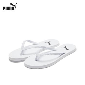 PUMAPUMA公式の新型の女子は足を挟む人の字を引っ張ってスリッパの360255白-10 40.5