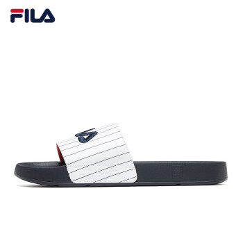 FILA男性靴FILA公式カップル用スリッパ2020夏新品厚底涼ビーチ靴グループ白-WT 41