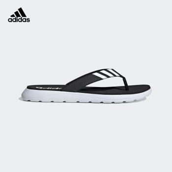 adidas公式サイトadidas COMFORT FLIP FLOP男性靴水泳運動涼スリッパEG 2069 1号黒/明るい白42(260 mm)