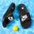 NIKENIKE公式旗艦婦人靴2020夏新品アウトドアファッション通気性軽便ビーチ水泳一字牽引スポーツカジュアルスリッパ343881-011/黒/やや小さい36.5/230 mm