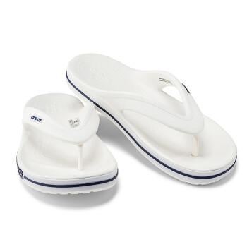 Crocsスリッパcrocs男性靴ベヤカーロッククラスカジュアル足の平底コールドスリッパ女性/20393白/ディープブルー-126/42(260 mm)